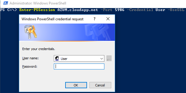 Connecting to an Azure Virtual Machine with PowerShell