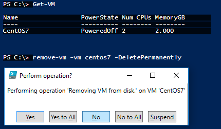 PowerCli - Remove-VM - PoshDB com